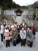 高家神社で集合写真